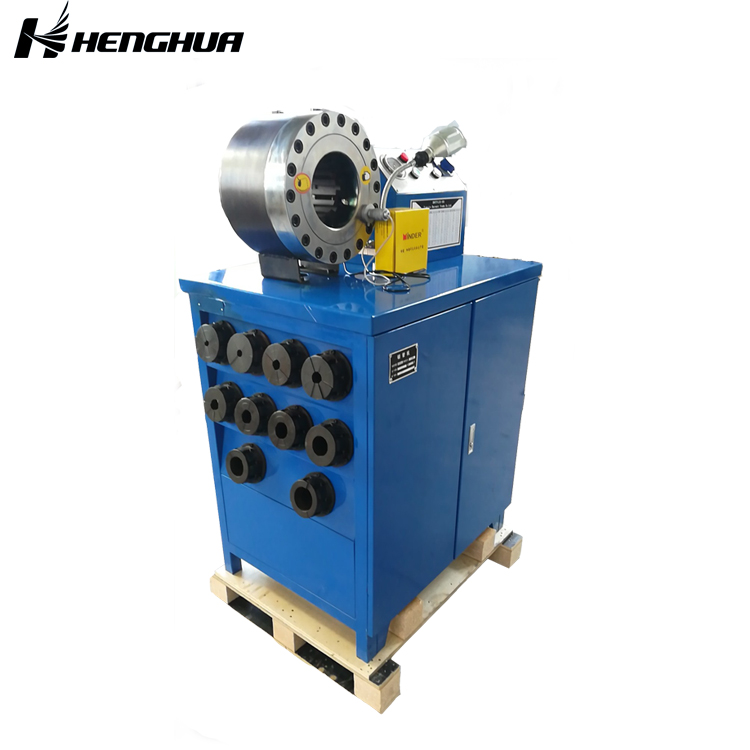 <b>DSG250-1 hose skiving machine dx68 hydraulic crimping with 10 dies dx-68 high accuracy low </b>