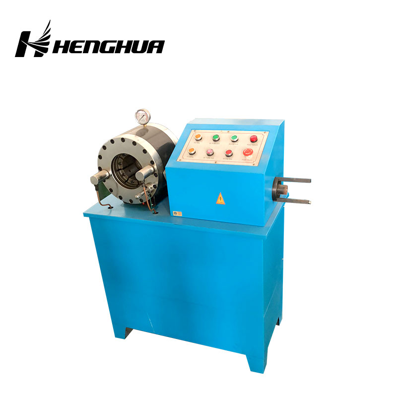 DSG250A high quality hydraulic hose crimping machine 1/4 inch tubing rubber oil