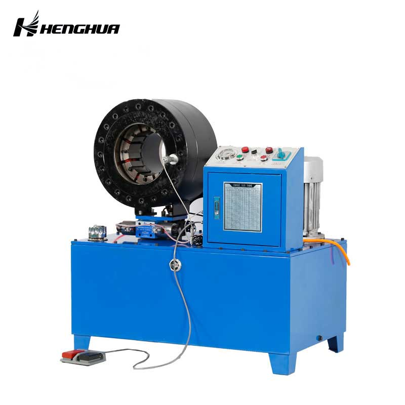 Dx102 CE Approved Hydraulic Hose Crimping Machine with High Speed